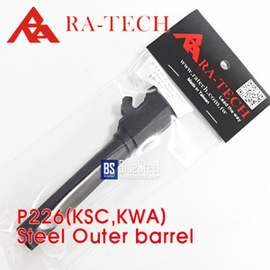 [RATech] KSC/KWA P226 Steel CNC Outer Barrel